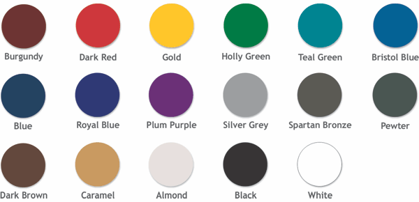 Cabinet & Frame Colors