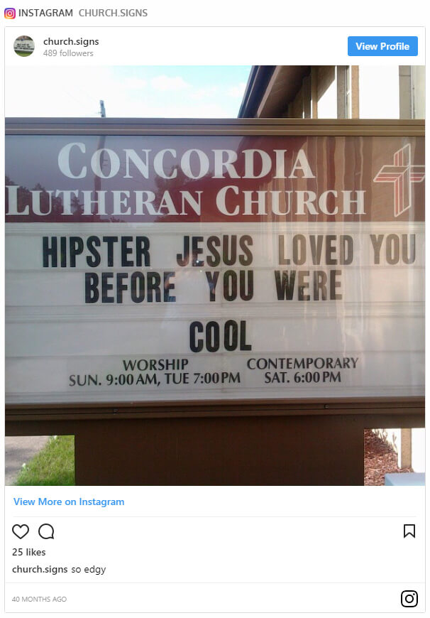 fd0eedc43 Hipster Jesus loved you before you were cool.