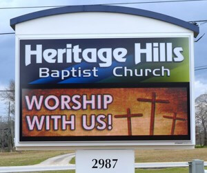 LED Church Signs Versus Other Types of Church Signs