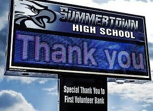 What an LED Sign Says About Your School