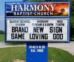 Your Guide to Choosing Church Sign Sayings
