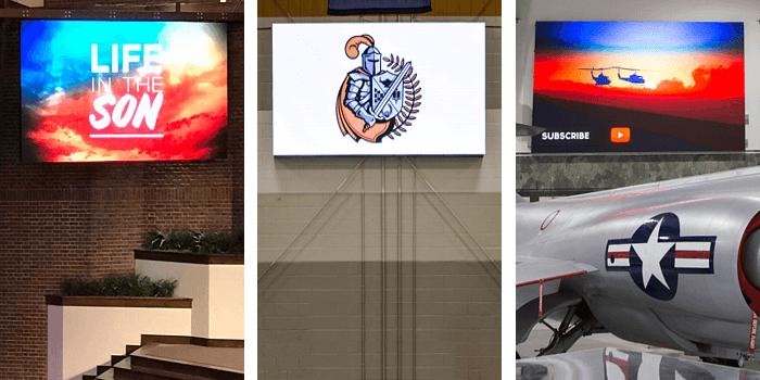 Indoor LED Signs