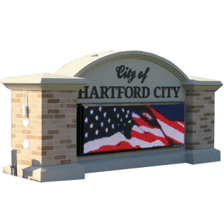 Monument LED Signs