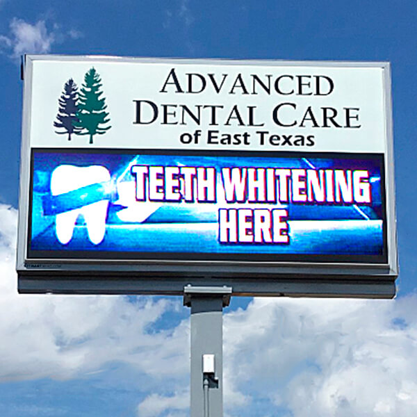 Business Sign for Family & Implant Dental Care