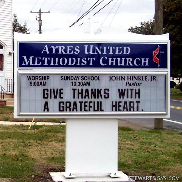 Ayres United Methodist Church - Pittsville, MD