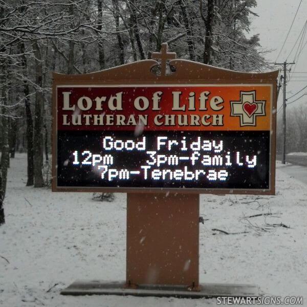 Lord Of Life Lutheran Church - Tabernacle, NJ