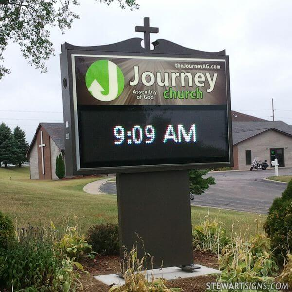 Church Sign for Journey Church