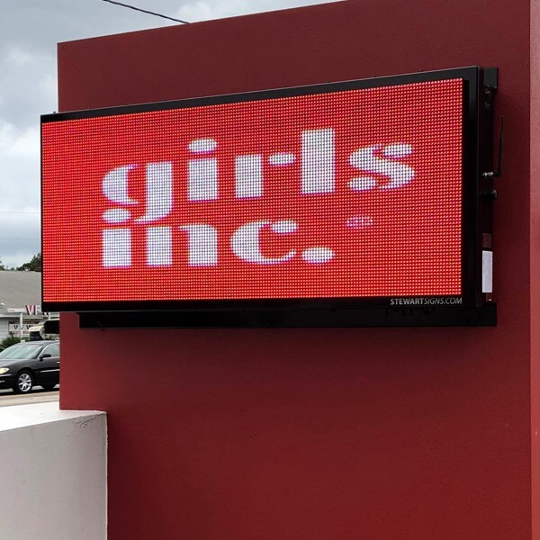 Civic Sign for Girls Incorporated Of Sarasota County