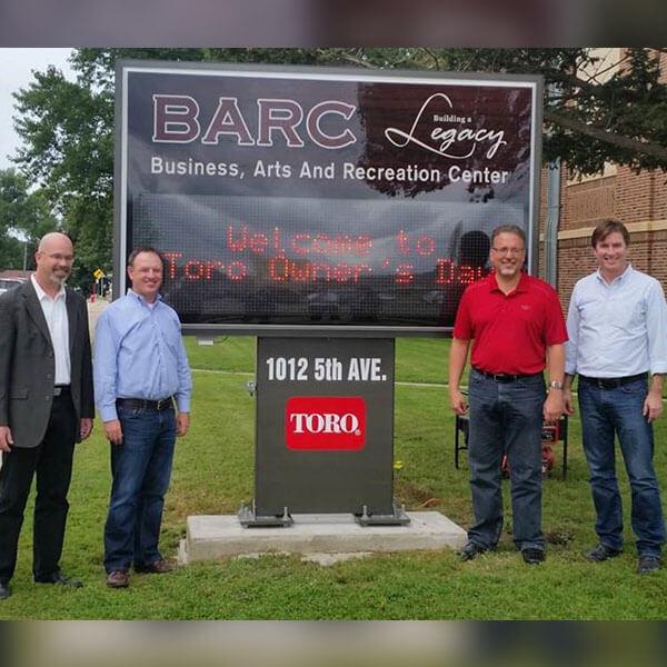 Municipal Sign for Barc, Inc.