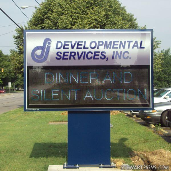 Municipal Sign for Developmental Services, Inc.