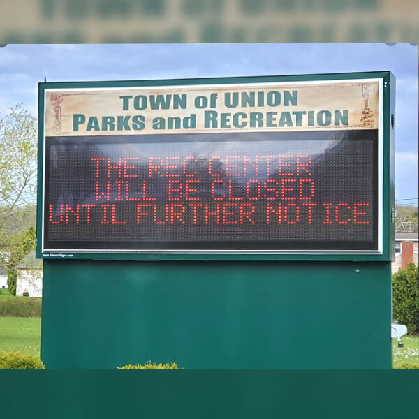 Municipal Sign for Town Of Union