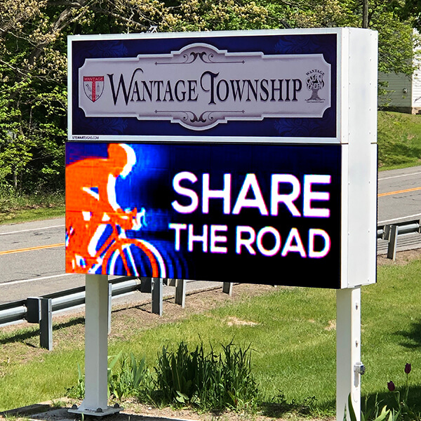 Municipal Sign for Wantage Township
