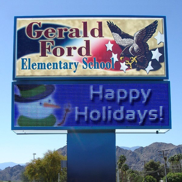 School Sign for Gerald Ford School