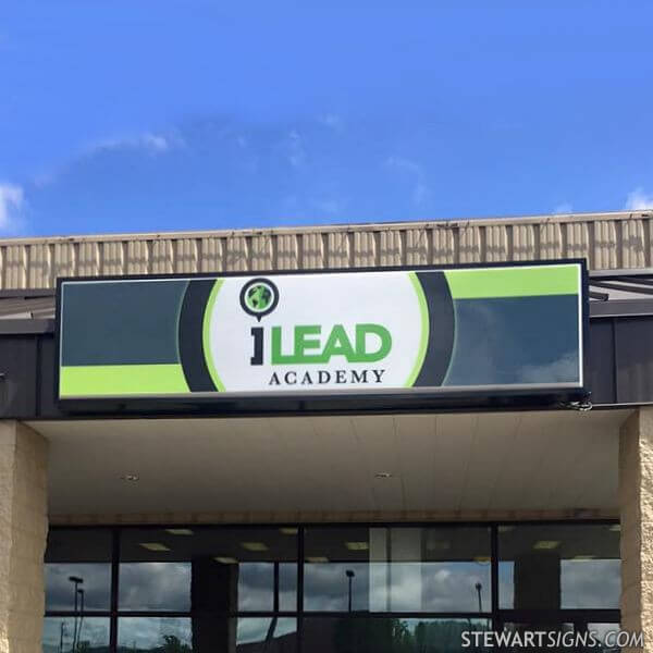 School Sign for Ilead Academy