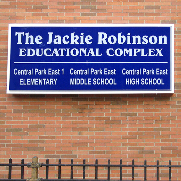 School Sign for Central Park East High School