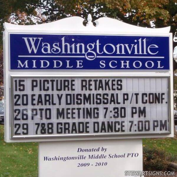 Washingtonville Middle School - Washingtonville, NY