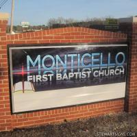 Church Sign For Harvestland Church Clarkston Mi